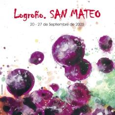 Cartel anunciador de la XLVII Fiesta de la Vendimia Riojana (Logroño)
