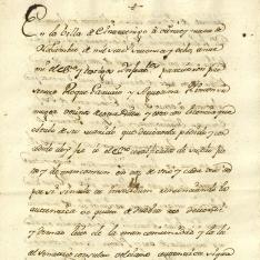 Ventas - 1778, noviembre, 29. Cintruénigo (Navarra)