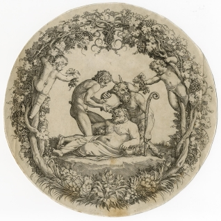 Silenio ebrio (o Taza Farnese)