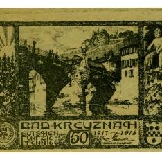 Billete de cincuenta pfennig
