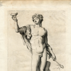 Estatua de Baco