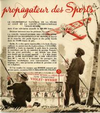 Cuaderno publicitario del aperitivo a base de vino aromatizado, Bhyrrh. [1950]