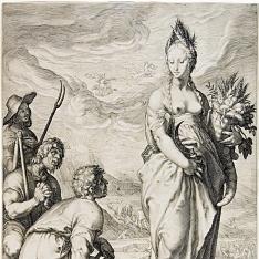 Los campesinos rinden culto a Ceres