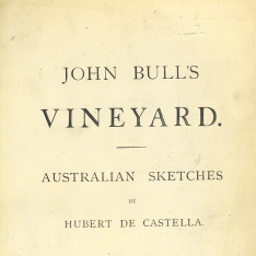 John Bull's vineyard Australian sketches