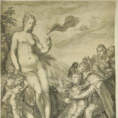 Los amantes piden a Venus su ayuda