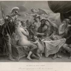 Las bodas de Tetis y Peleo