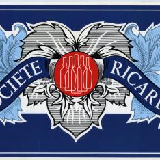 Catálogo publicitario de bebidas. Ricard, S.A.
