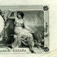Billete de veinticinco pesetas