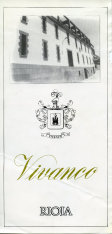 Folleto publicitario de vino de Rioja, Vivanco