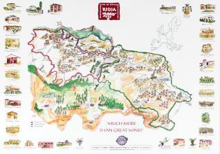 Mapa Bodegas Familiares de La Rioja (PROVIR)
