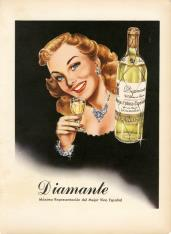 Vino Diamante. Bodegas Franco-Españolas. Logroño [ca. 1950]