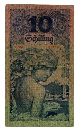 Billete de diez schiling