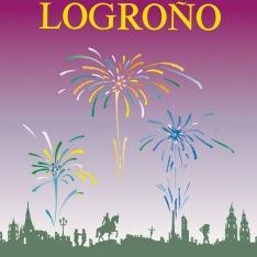 Cartel anunciador de la XXXIV Fiesta de la Vendimia Riojana (Logroño)