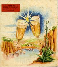 Folleto publicitario de Cavas Perelada, cavas del Ampurdán