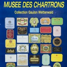 """Cartel promocional del museo de etiquetas """"Patrice Calvet - Bourdeaux"""""""