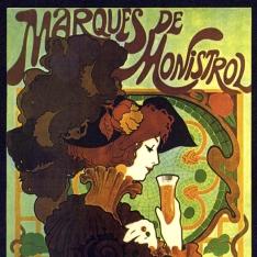 Cartel publicitario del Marqués de Monistrol
