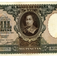 Billete de mil pesetas