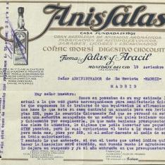 Correspondencia - 1930, noviembre, 19. Monforte del Cid (Alicante)