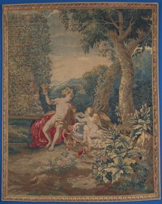Baco con Cupido