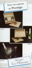 Folleto publicitario de Bernard Launois. Champagne Veuve Clémence (Le Mesnil-Sur-Oger)