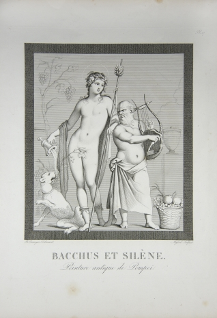 Baco y Sileno