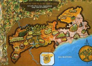 Folleto publicitario de Bodegas Pedro Rovira (Tarragona)