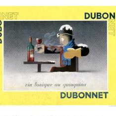 Cartel publicitario de Dubonnet