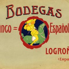 """Listado de precios. """"Coñac del Caballo Verde"""". Bodegas Franco-Españolas. Logroño. [1909]"""