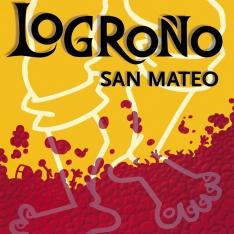 Cartel anunciador de la XLI Fiesta de la Vendimia Riojana (Logroño)
