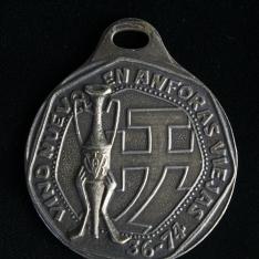 Dos medallas conmemorativas