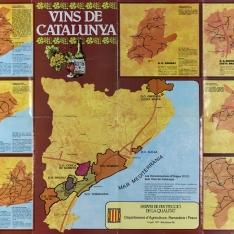 "Cartel informativo ""Vins de Catalunya"""