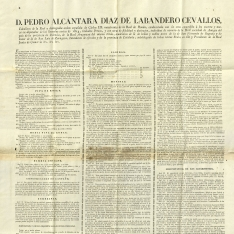 Edictos - 1832, diciembre, 14. Barcelona