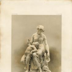 Escultura de Ino y Baco