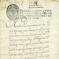 Ventas - 1766, enero, 30. Nava del Rey (Valladolid)