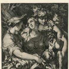 Venus, Ceres, Baco