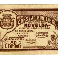 Billete de cincuenta céntimos