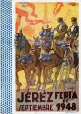 Programa de la Fiesta de la Vendimia. Jerez de la Frontera, 1948