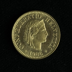 Moneda de cinco francos